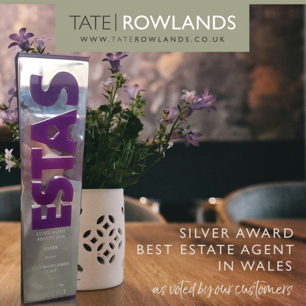 Tate Rowlands win Silver Award | Best estate Agent Wales