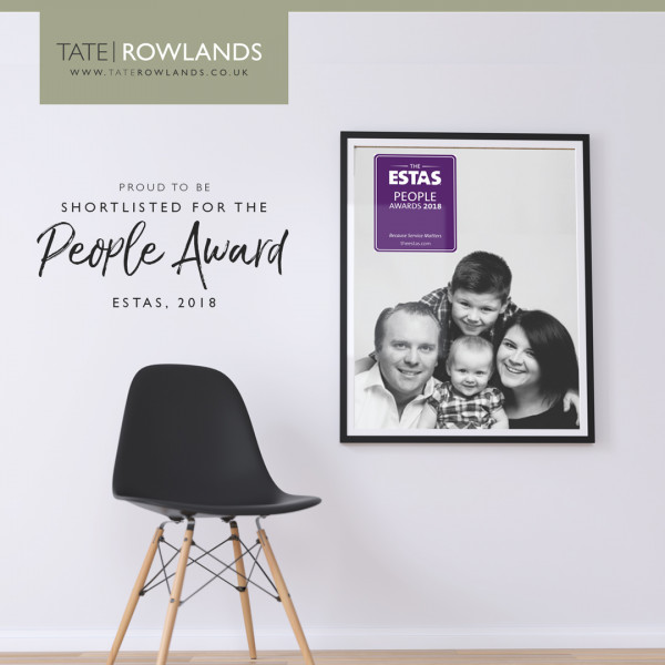 Tate Rowlands shortlisted for the ESTAS People Award